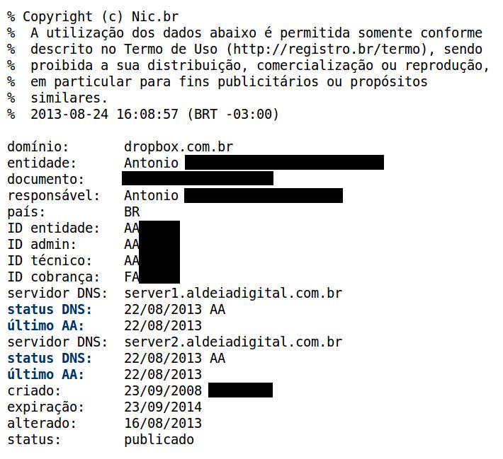 registro dropbox br