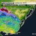 De sequía a inundaciones. Lluvias caídas durante el 2015, con reseñas mes a mes