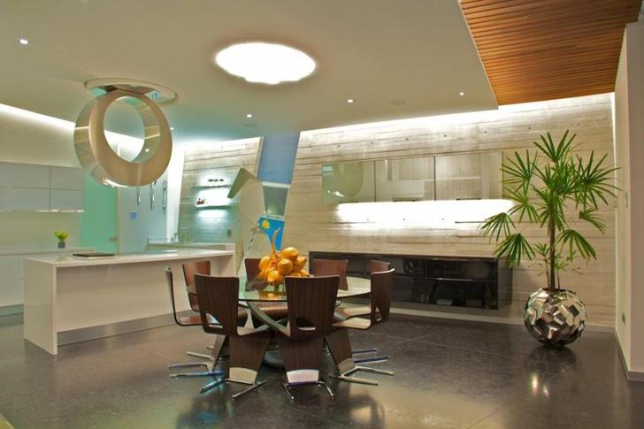 Dining room in Casa Gomez by SO Studio