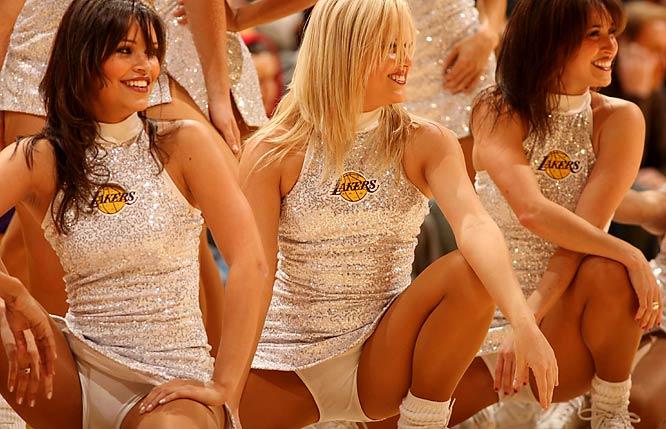 hot laker girls naked