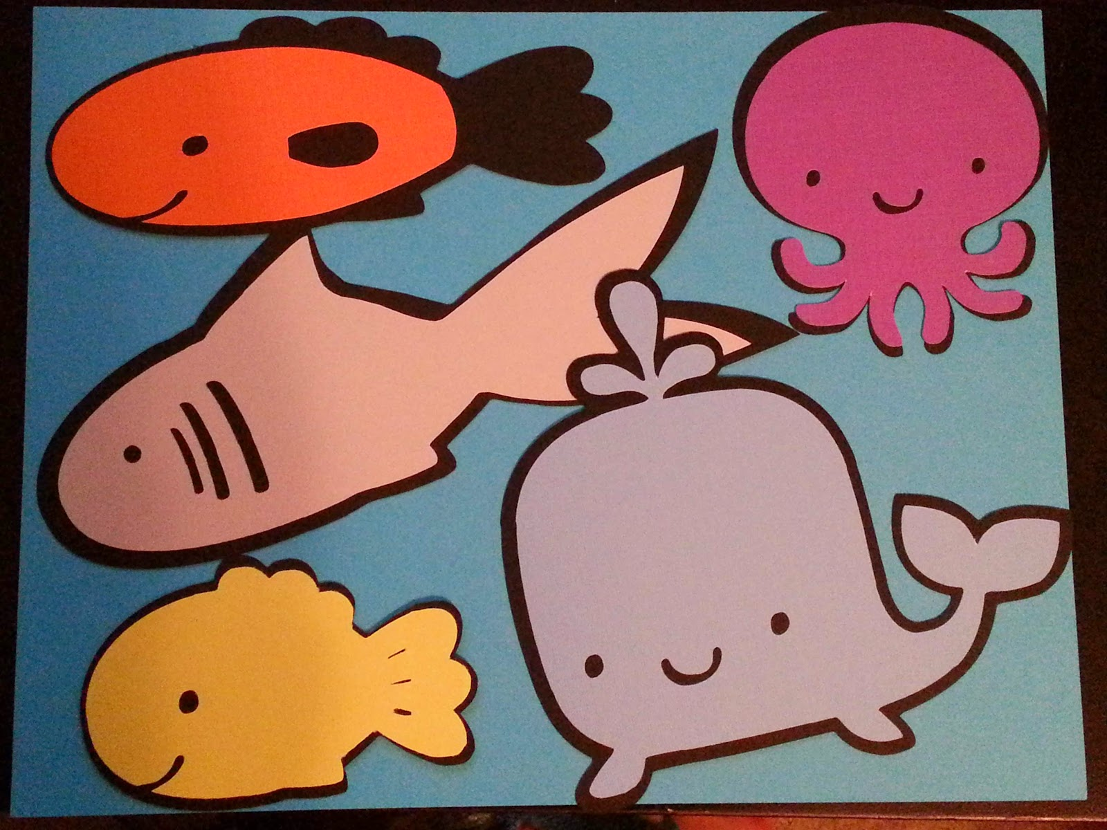 Hannerz playground slippery fish visual for Fish songs for preschoolers