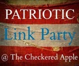 Checkered Apple Patriotic Link Party
