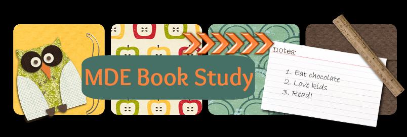 MDE Book Study