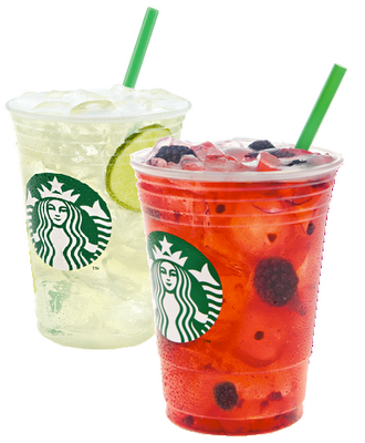 Handcrafted Refreshers: Cool Lime and Very Berry Hibiscus