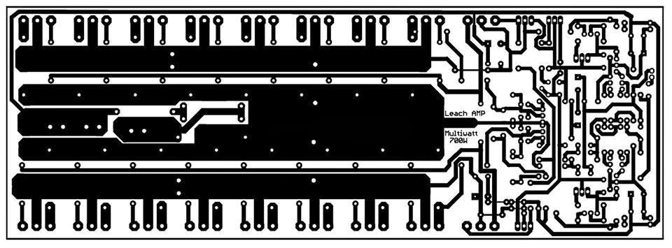68 Watts LM3886 Power Amplifier.