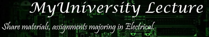 MyUniversity Lecture