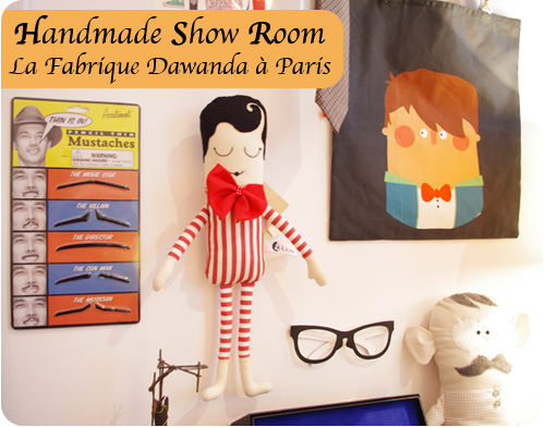 Handmade showroom Dawanda La Fabrique - Photos Chez Violette