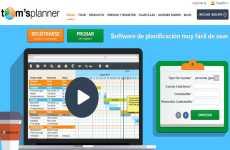 Tom´s Planner: permite crear diagramas de Gantt en forma colaborativa en línea