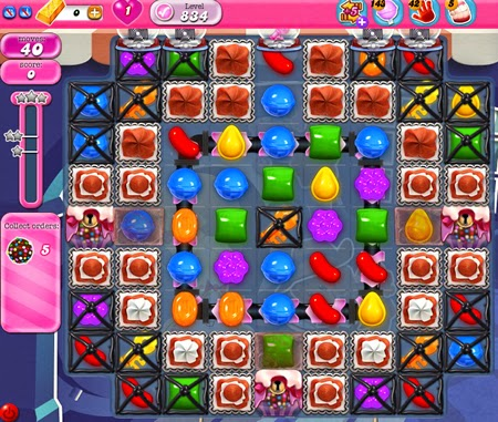 Candy Crush Saga 834