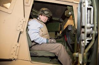 Humvee simulator