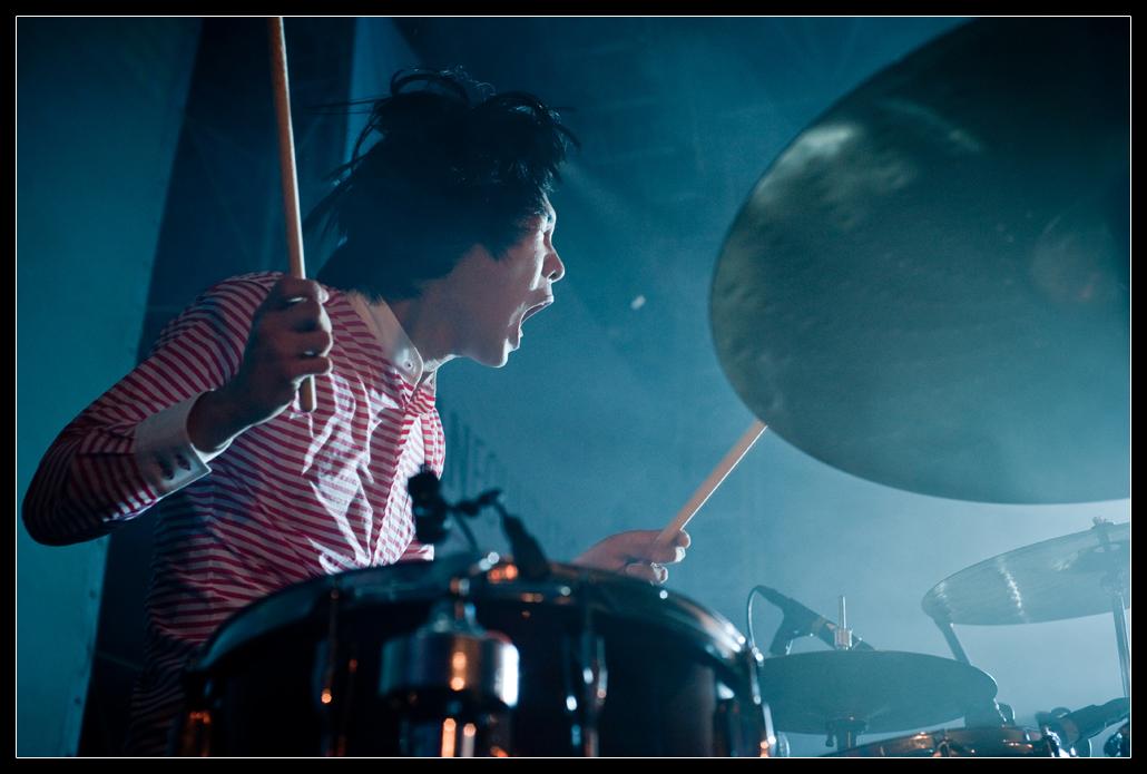 Sam Mourai pendant un live d'Edrooseo