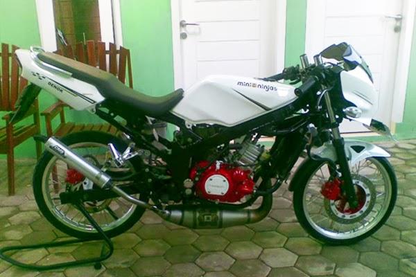 Modifikasi Motor Kawasaki Ninja 150 L Velg Jari-Jari
