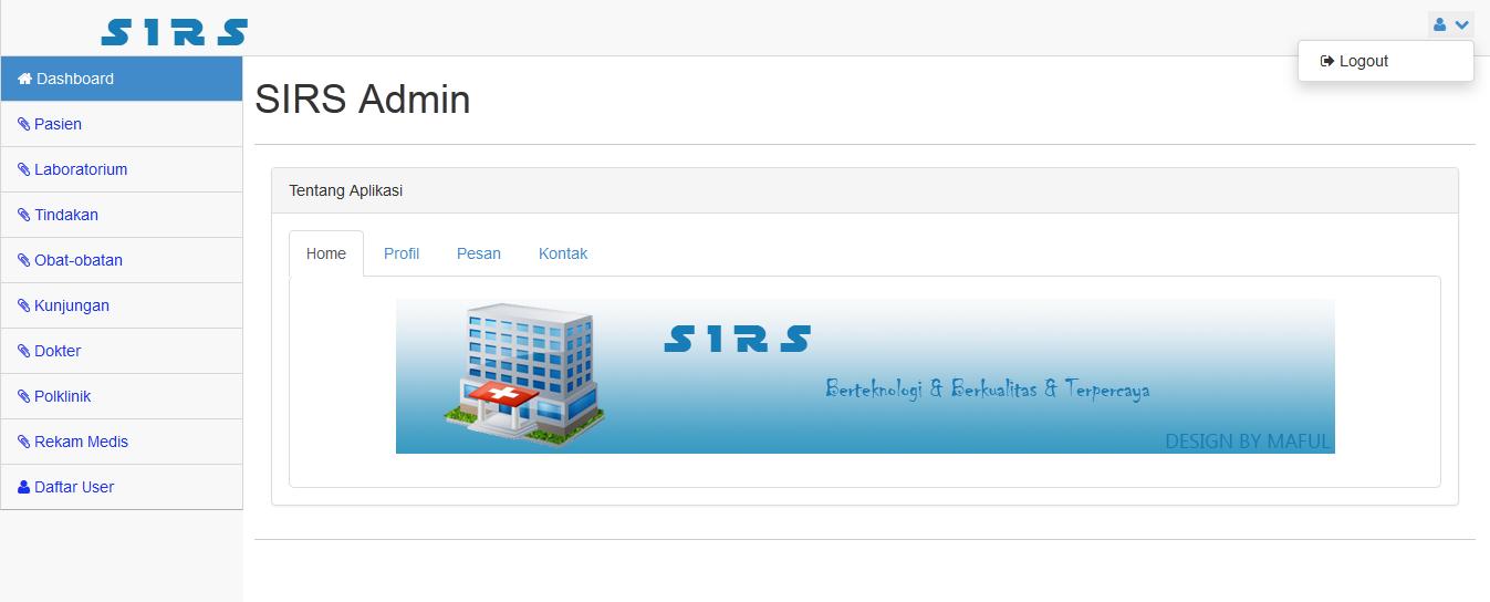 02 - Aplikasi Sistem Informasi Rumah Sakit Berbasis Web