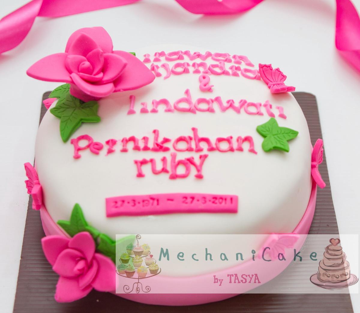 Mechanicake th wedding anniversary cake s
