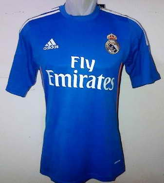 Real Madrid Jersey away