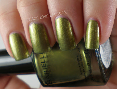 Barielle, Holiday Madness, Metallic, Olive Green, Nail Polish