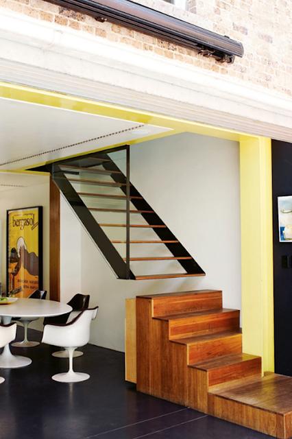 Mania de casa decora o escadas estilosas - Attic houses with exterior stairs ...