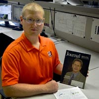 Project Engineer Nick Johnson Publishes Article in AWWA Journal