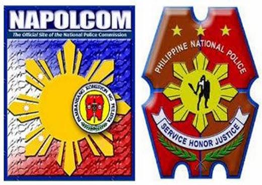 Image: NAPOLCOM and PNP Logo
