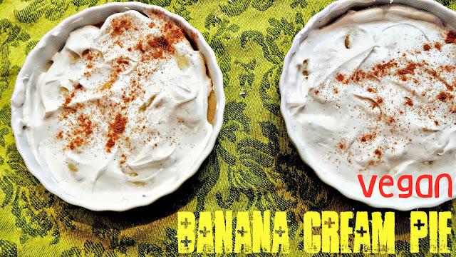 Vegan and (Nearly) Raw Banana Cream Pie for 2