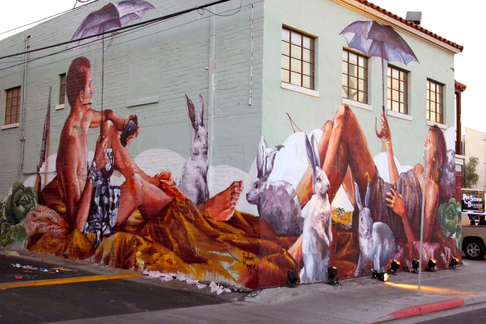 Street art and graffiti in las vegas where to go and who for Australian mural