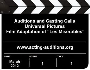 Les Miserables Casting Calls Auditions