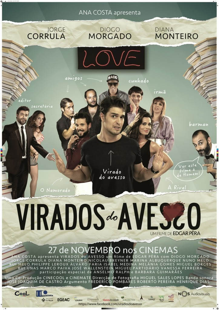 Download Filme Virados do Avesso BDRip AVI + RMVB Nacional