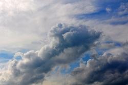 Wolkengebilde...