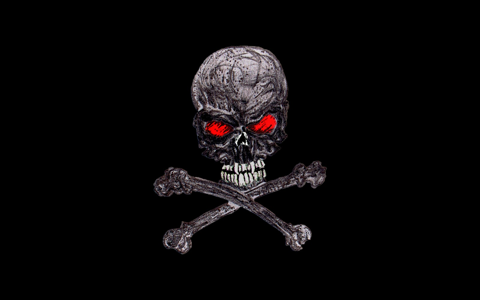 Wallpaper - Skull - For PC | Impact Wallpapers Wallpapers 1920x1080 Full Hd