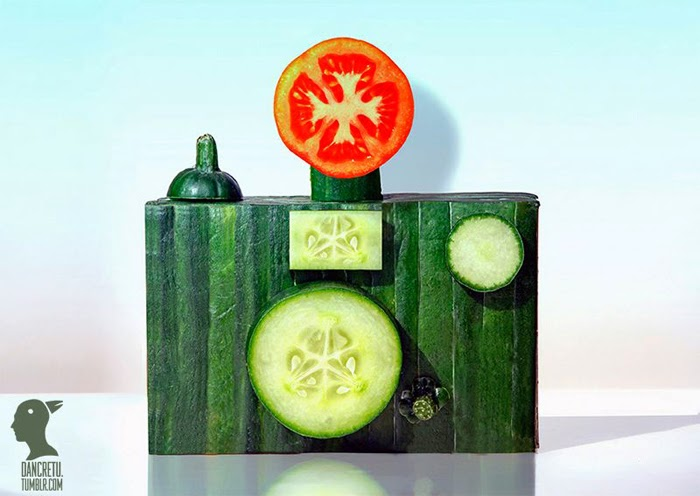 Food Art Sculptures by Dan Cretu