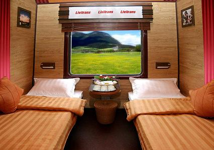 livitran train,cabin Vip to paxs