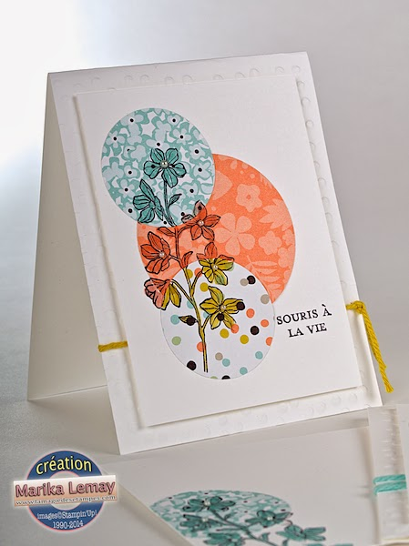 happy water-colour Stampin' Up!