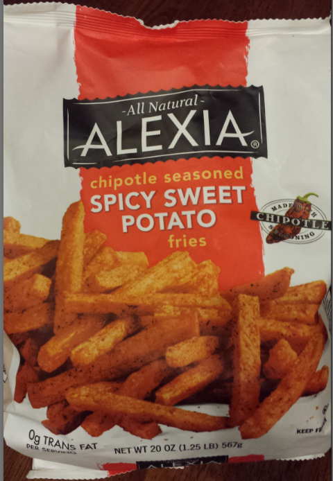 alexia chipotle sweet potato fries