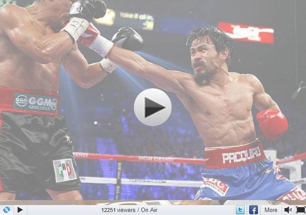 Tim Bradley vs Manny Pacquiao Live Streaming