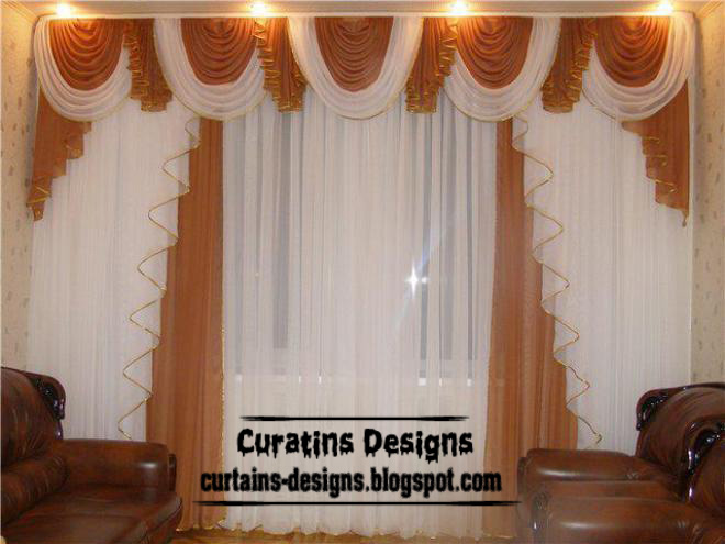 Dream Orange Drapes Curtain Style From Chiffon Fabric, Drapes Curtain For Living  Room Part 40