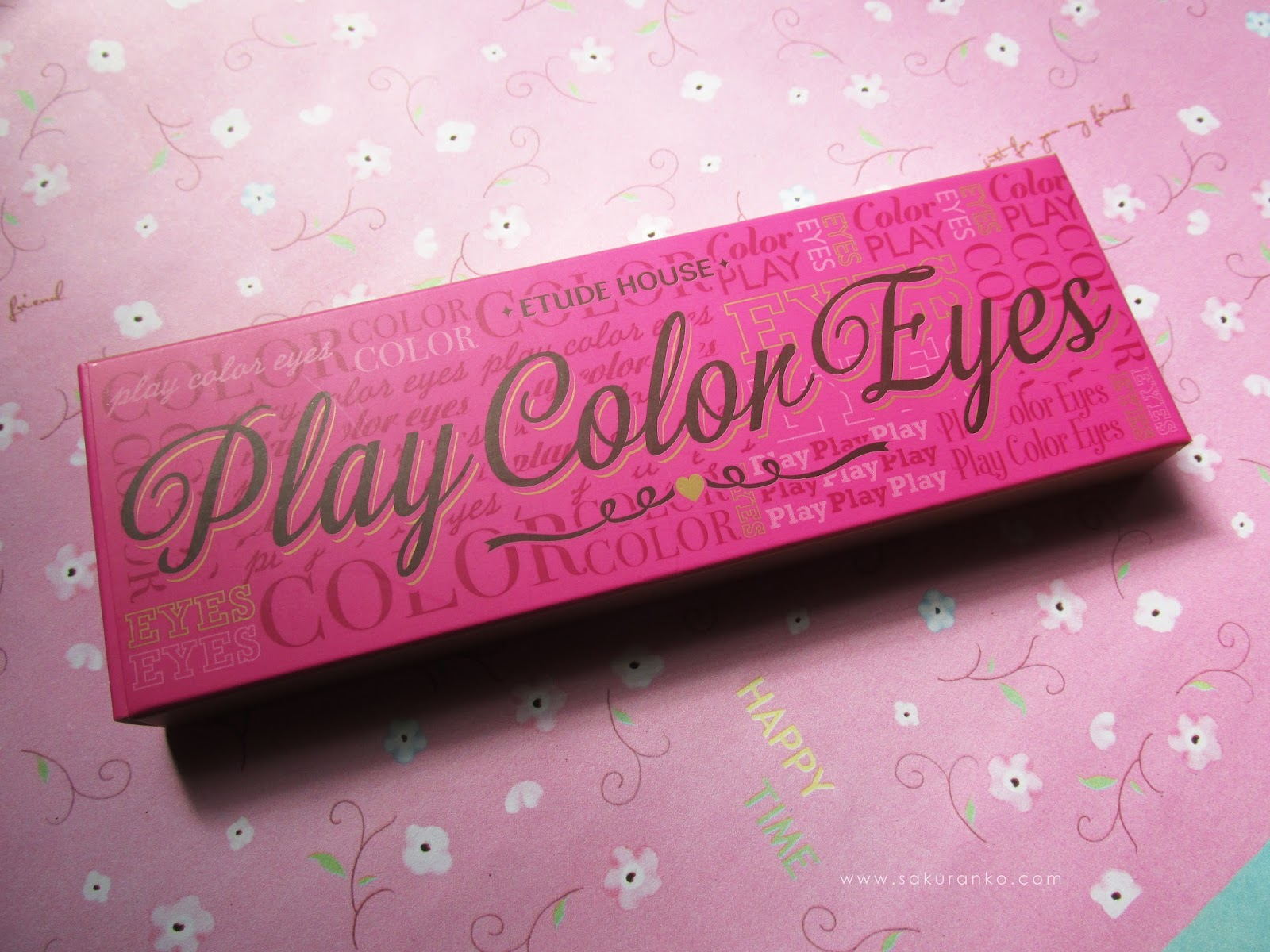 Sakuranko: Etude House Play Color Eyes \