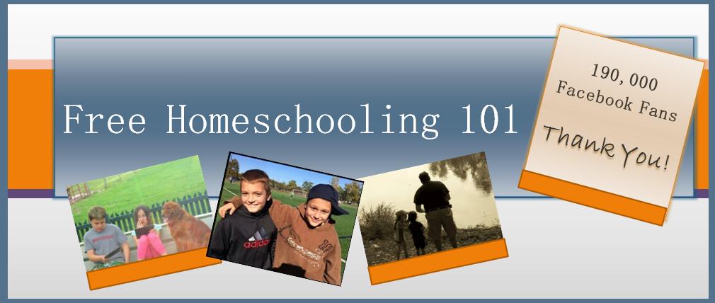 FREE HOMESCHOOLING 101