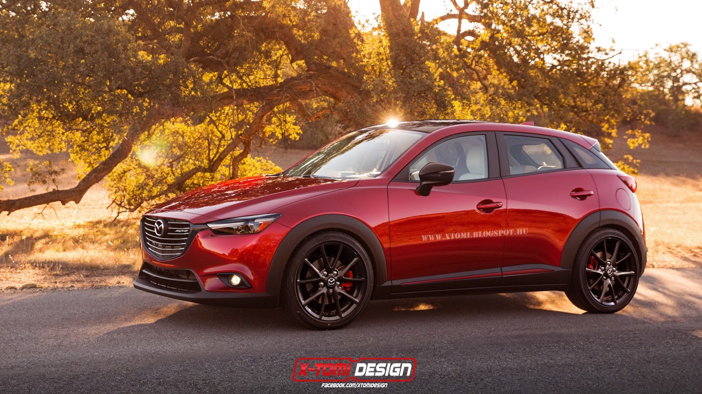 X Tomi Design Mazda Cx 3 Mps