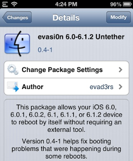 Evasion 6.0-6.1.2 Untether