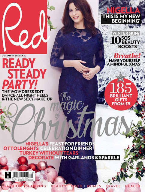 Food writer, Cooking, journalist @ Nigella Lawson - Red UK, December 2015