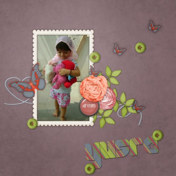 My Layout using Fresh Start by Dandelion Dust Designs
