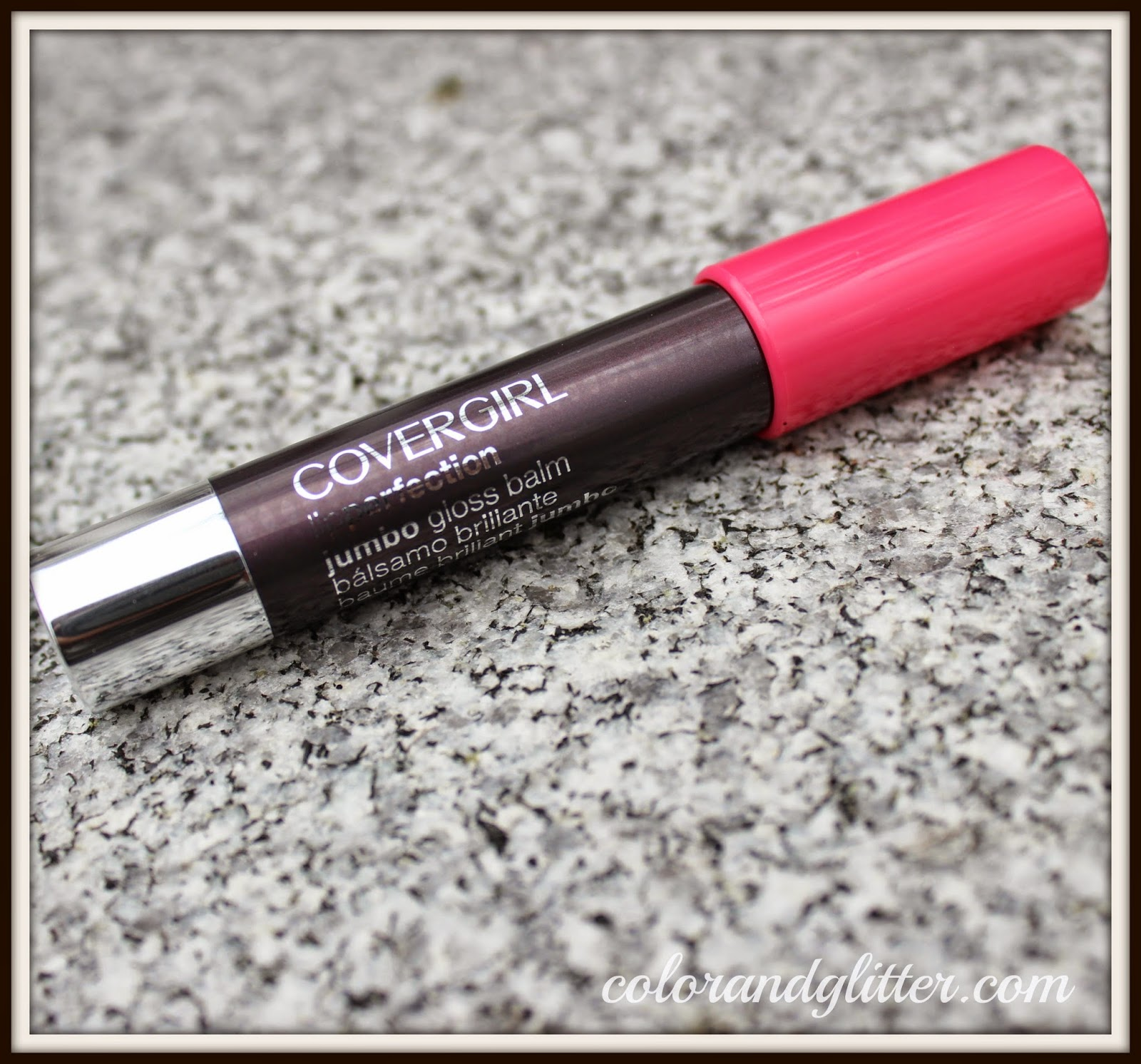Covergirl Lip Perfection Jumbo Gloss Balm Stain in Watermelon Twist || Review and Swatches