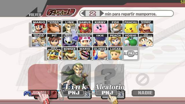 Super Smash Bros Brawl PC Full Descargar Español ISO DVD5 Emulado 2012