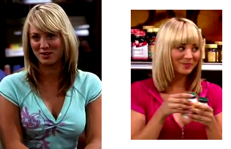 Jen S Hair Reviews The Big Bang Theory Penny Kaley Cuoco Hairstyles