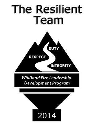 2014 Wildland Fire Leadership Campaign logo