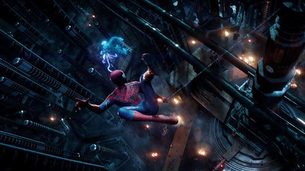 electro vs spider man