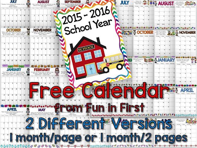 https://www.teacherspayteachers.com/Product/2015-2016-School-Calendar-Freebie-797931