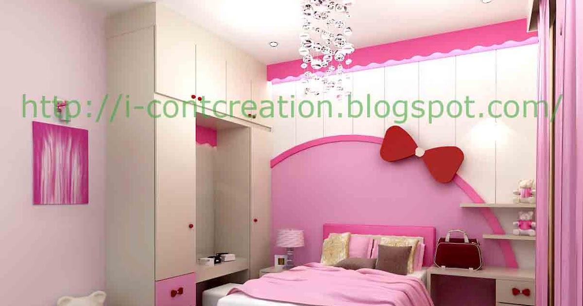 i contcreation kamar tidur untuk anak perempuan
