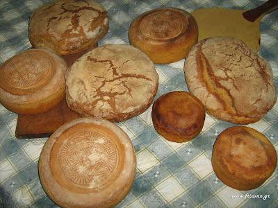 Φτιάχνω σπιτικό ψωμί με προζύμι
