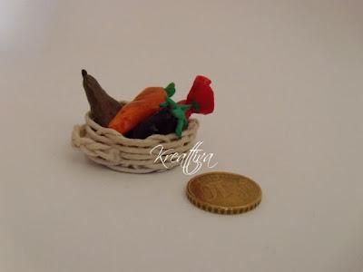 cestino frutta in miniatura